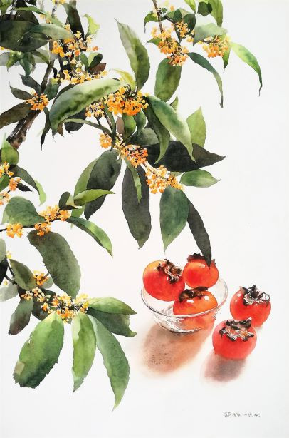 Golden Gui & Red Persimmon