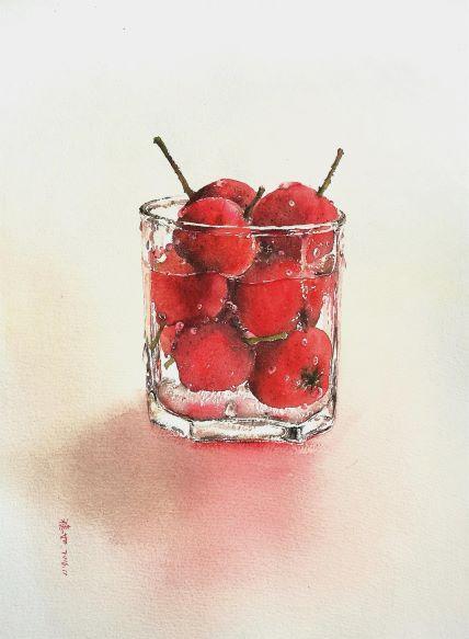 Water · Fruit - Hawthorn
