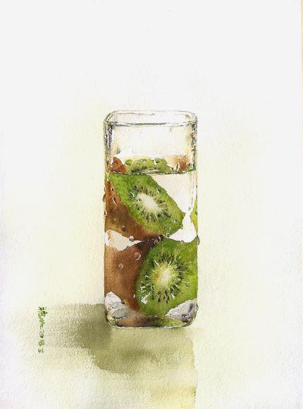 Water · Fruit - Kiwi