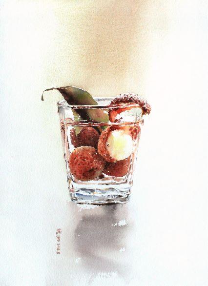 Water · Fruit - Lychee