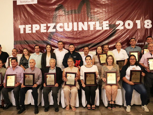 Entregan la edición 25 del Premio Tepezcuintle 2018