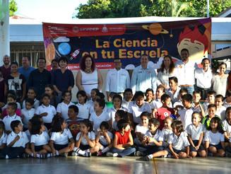 Inicia Secretaría de Cultura el programa Ciencia en tu Escuela