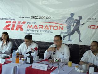Anuncian maratón internacional