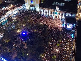 20 mil personas clausuran el tercer Volcán Fest al son de Jarabe de Palo