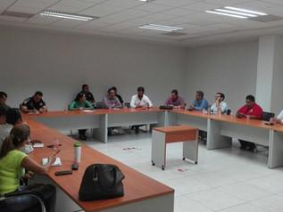 PGJE. Reunión con empresarios restauranteros de Manzanillo