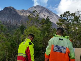 Estaciones de monitoreo del Volcán contarán con paneles solares y GPS