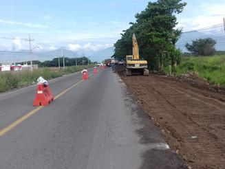 Avanza ampliación de la carretera Villa de Álvarez-Zacualpan