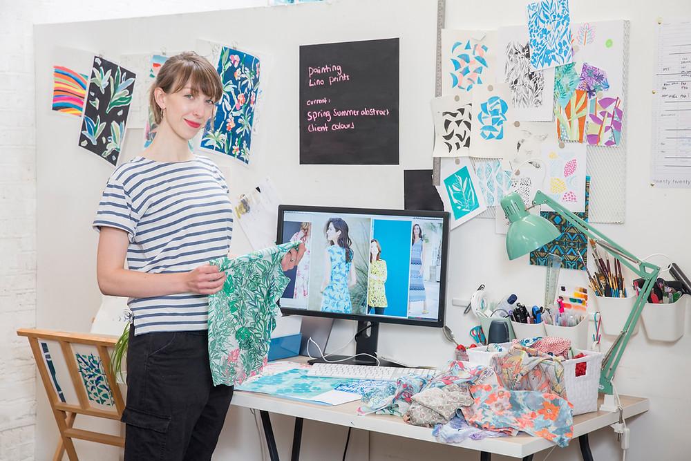 studio designer textiles colour
