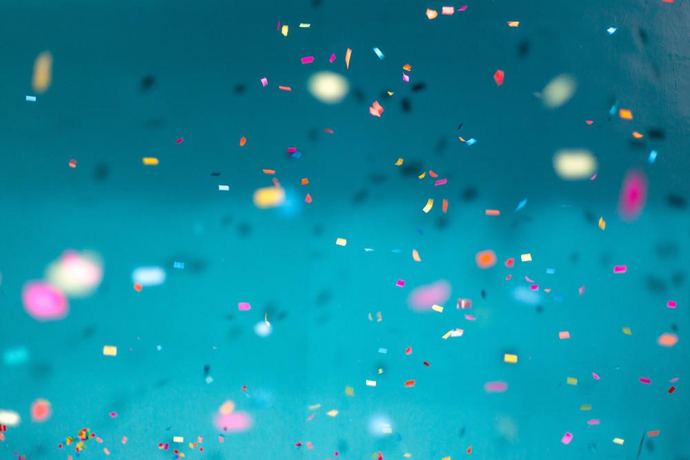 confetti party celebration