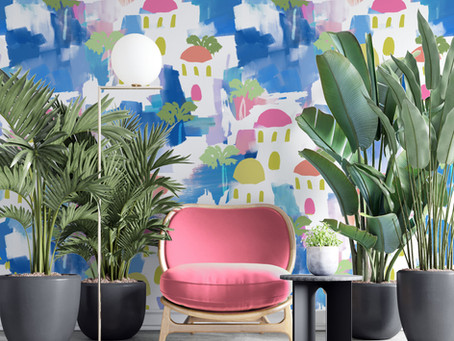 5 Vintage Interior Designers to know about for their use of pattern and colour