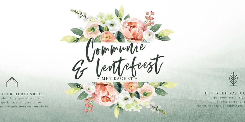 Communie- & Lentefeest 2020 - DATA AANGEPAST NAAR 04/10/2020