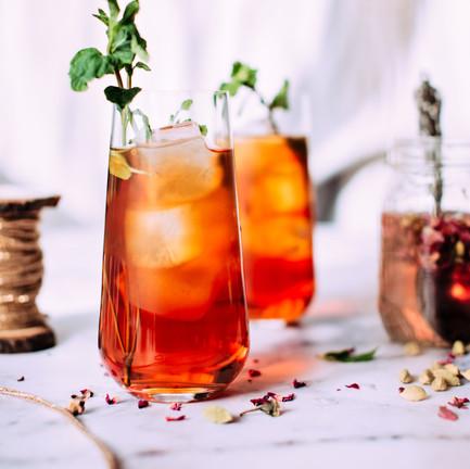 Homemade Mocktails & Ice Tea