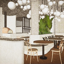 Boccanera interior sketch