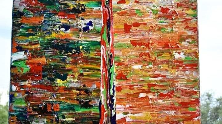 Sword Of The Spirit - Original Painting