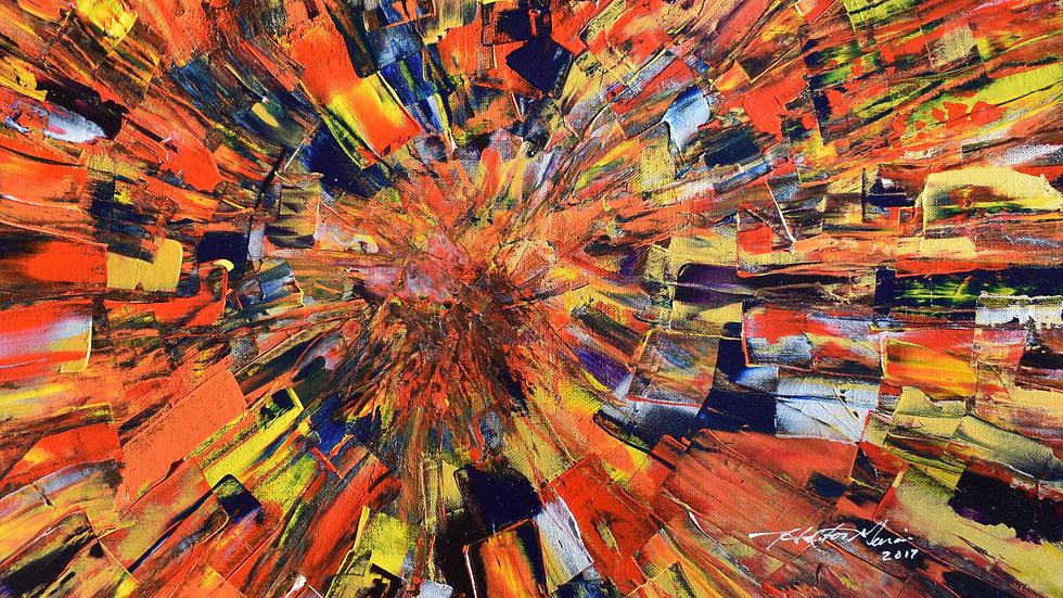 Implosion - Original Painting - SOLD