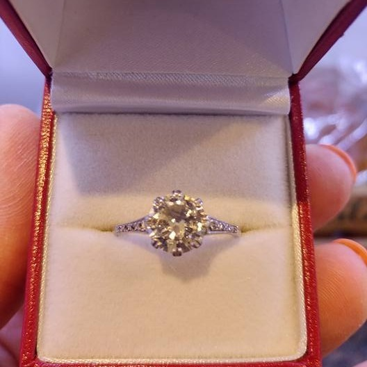 3 carat Diamond Solitaire