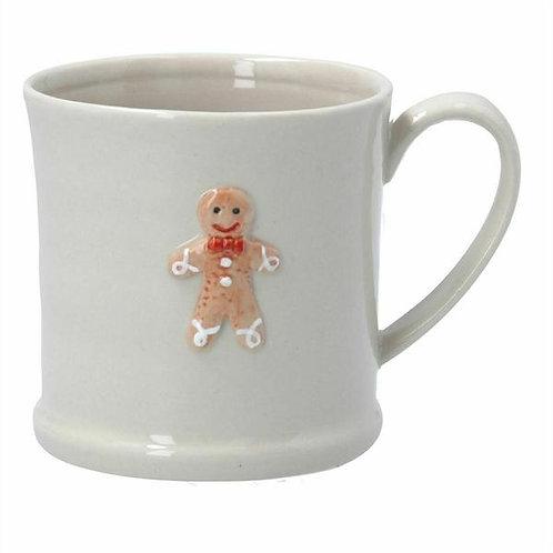 Gisela Graham Ceramic Gingerbread Man Mug