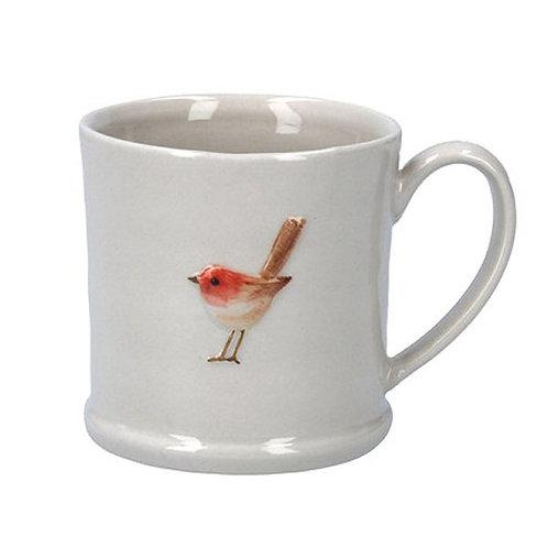 Gisela Graham Ceramic Robin Mug