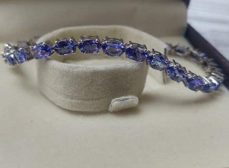 Tanzanite Tennis Bracelet Commission