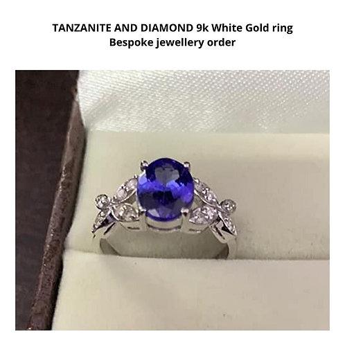 Bespoke Tanzanite Gold Ring
