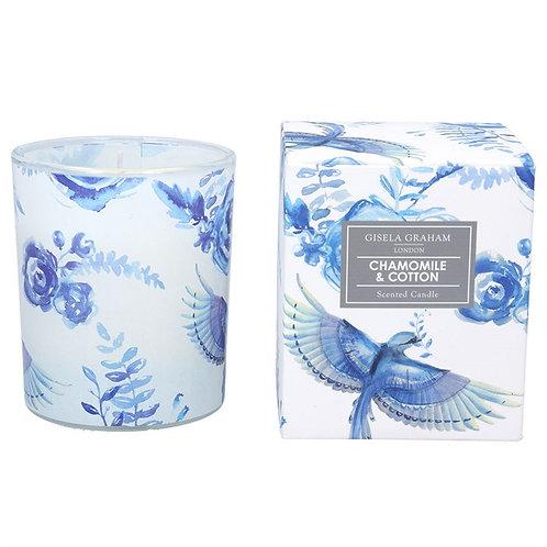 Gisela Graham Large Boxed Candle - Chamomile & Cotton