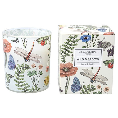 Gisela Graham Large Boxed Candle - Flora & Fauna Wild Meadow
