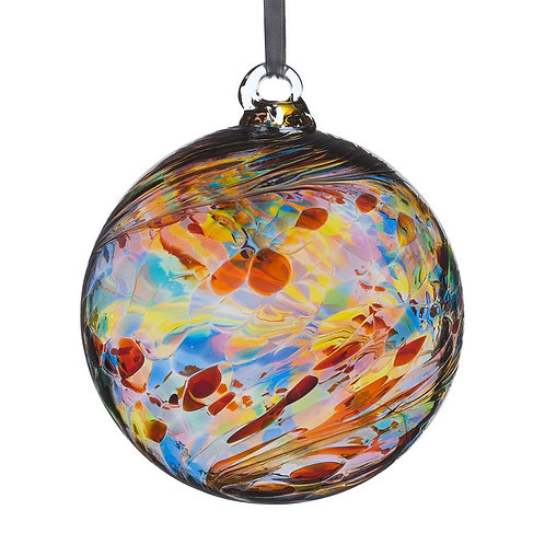 Friendship Ball 8 cm Multicoloured Glass
