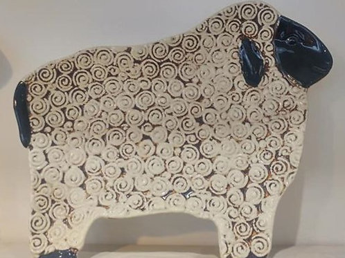 Gisela Graham Ceramic Sheep Platter