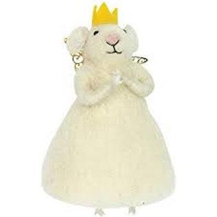 Gisela Graham Felted Princess Mouse
