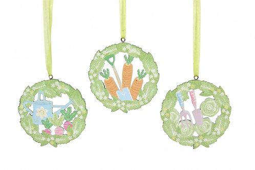 Gisela Graham Garden Fretwork Easter Decorations