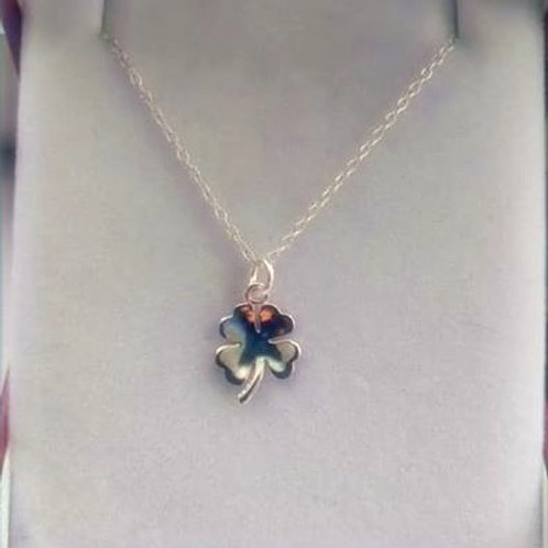 Clover Sterling Silver pendant and chain