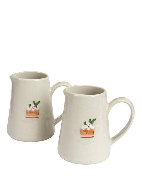 Gisela Graham Ceramic Plum Pudding Jug