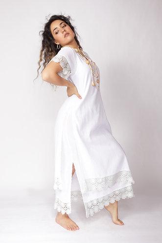 Vestido Xochitl Guipiure