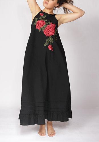 Vestido Rosas