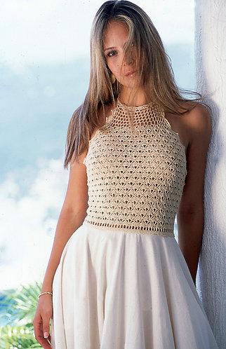 Vestido Amaranta Crochet
