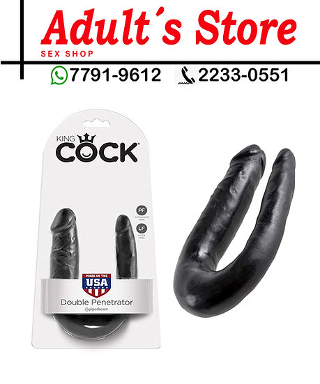 Dildo King Cock Small Double Trouble