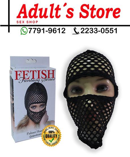 Fetish Máscara Fishnet Hood
