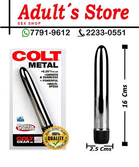 Bala Vibradora Colt Metal Silver