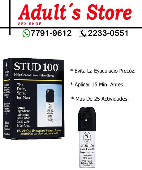 Retardante En Spray Stud 100