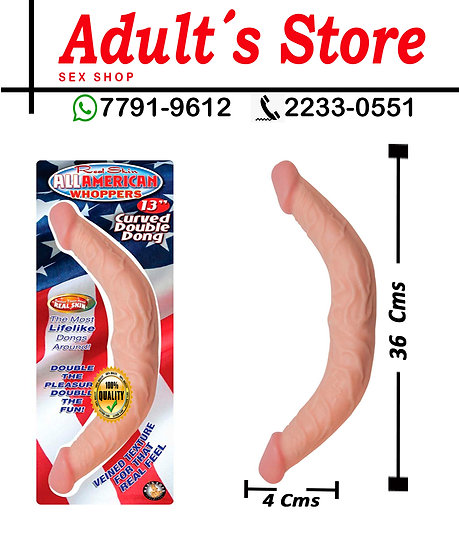 Dildo All American Whoppers 13´´ Curved Dong
