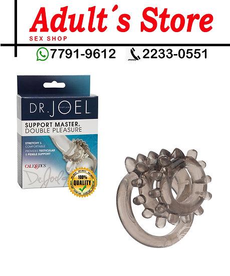 Anillo Para Pene Dr.Joel Support Master  Double Pleasure Gray