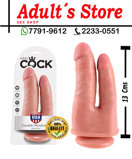 Dildo King Cock Double Penetrator