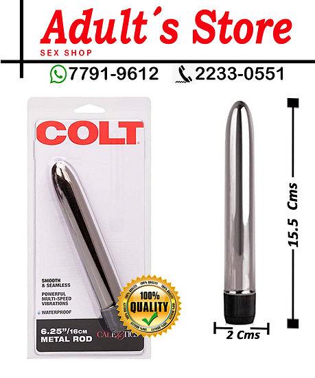 Vibrador Bala Colt 6.25´´ Silver