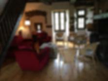 Roque Rouge salon du grand gîte