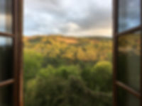 Roque Rouge automne à La Cazotte