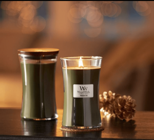 WoodWick candles are good white elephant gifts.