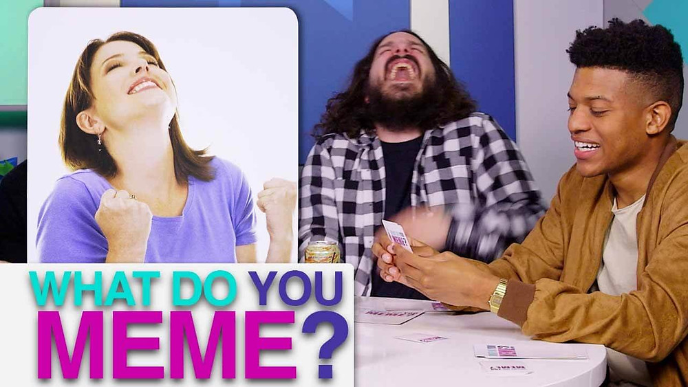 What Do You Meme card game will liven your white elephant party.