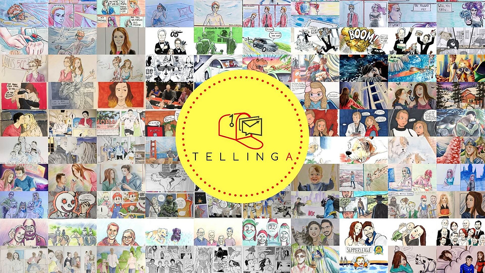 Tellinga - Storybook Greeting Cards