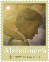 Alzheimer's research semipostal stamp