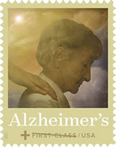 Alzheimer's research semipostal stamp